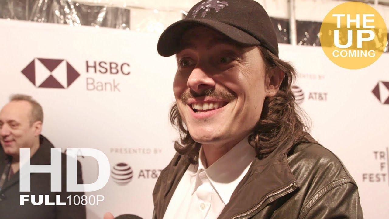 Fabien Constant interview at Blue Night premiere – Tribeca Film Festival  2018