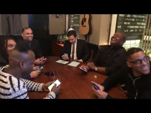 Jimmy Fallon, The Roots and Steve Higgins play Quiplash 2
