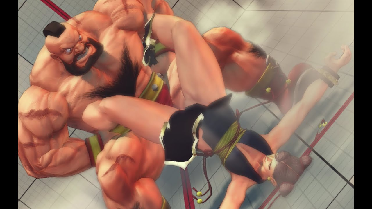 Super Street Fighter Iv Zangief Ultra Combos Youtube
