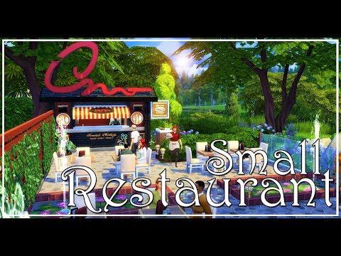 The Sims 4 Speedbuild - Small Restaurant