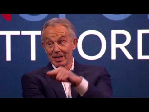 """Bad stuff"" - if Tony Blair were on social media growing up..."