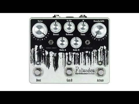 EarthQuaker Devices Palisades Mega Ultimate Maximum Overdrive Classic