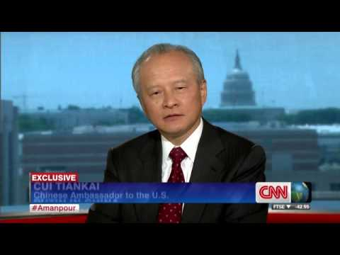 CNN Christiane Amanpour speaks with Chinese Ambassador to the U S  Cui Tiankai
