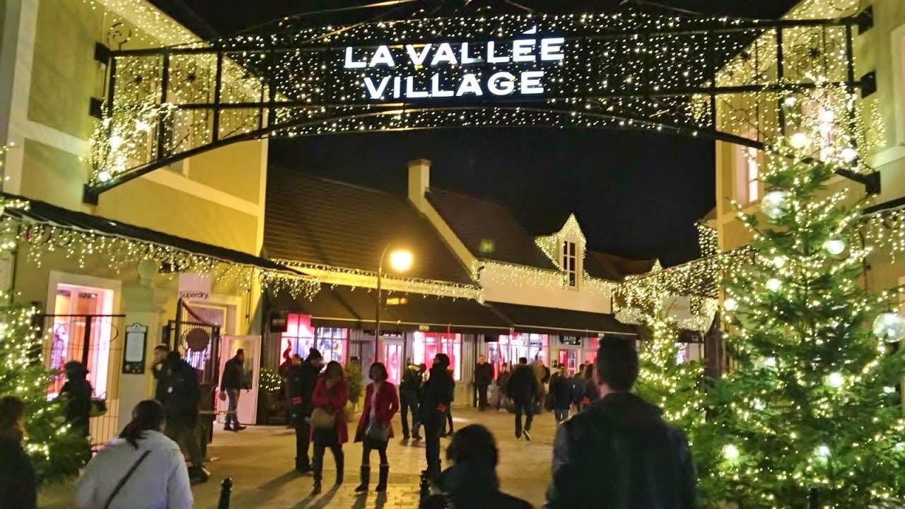 paris france vallée village outlet mall branded shopping for
