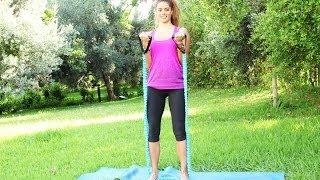 شدّ عضلات الذراعين بتمارين رياضية بسيطة | مع دوريس