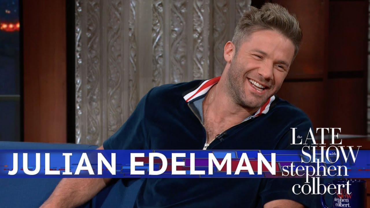 Julian Edelman Talks Judaism With Stephen Colbert – The Forward