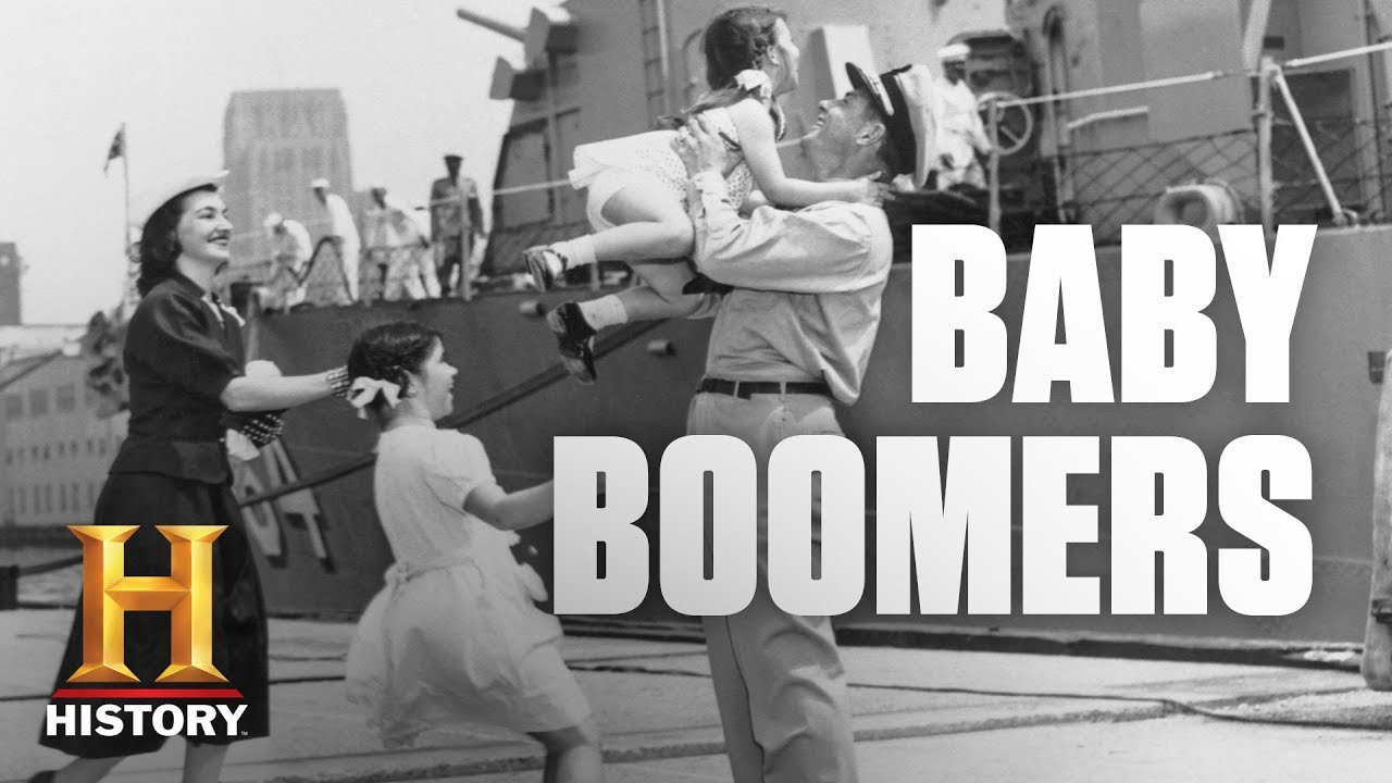fast facts about baby boomers history youtube. Black Bedroom Furniture Sets. Home Design Ideas