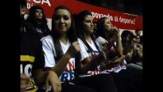 Dance Team Exhibition with Fan Support, Cuenca, Ecuador