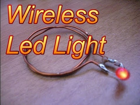 How To Make Wireless Led Light Youtube