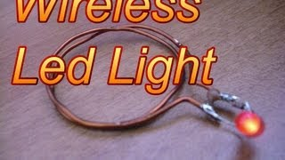 How to make wireless led light