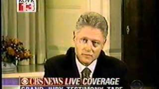 Clinton Grand Jury Testimony (Part 1 of 4)