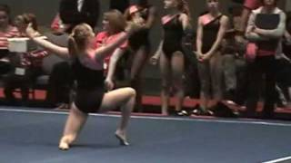Kasey F Gymnastics 2012 Pink Vault And Floor Level 9