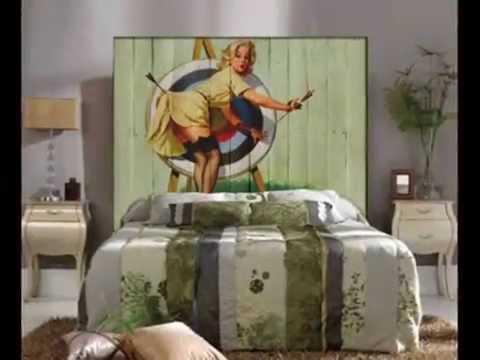 Cabeceros vintage ideas decoracion vintage con palets - Ideas con palets ...