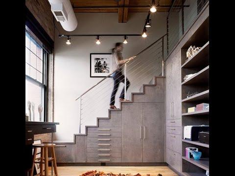 Как можно использовать пространство под лестницей