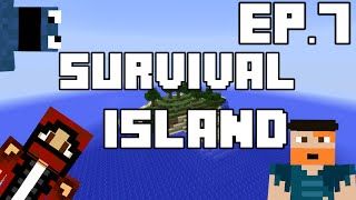Minecraft Survival Island Ep.7 - The Worst Holiday in Hell
