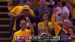 Toronto Raptors vs Golden State Warriors 2019 NBA Finals Game 6 Highlights