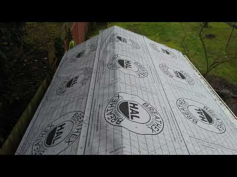 VIDEO 4 - CONCRETE TILE ROOF REPAIRS AND PAINT, METAL ROOF CONVERSION FROM CEDAR.