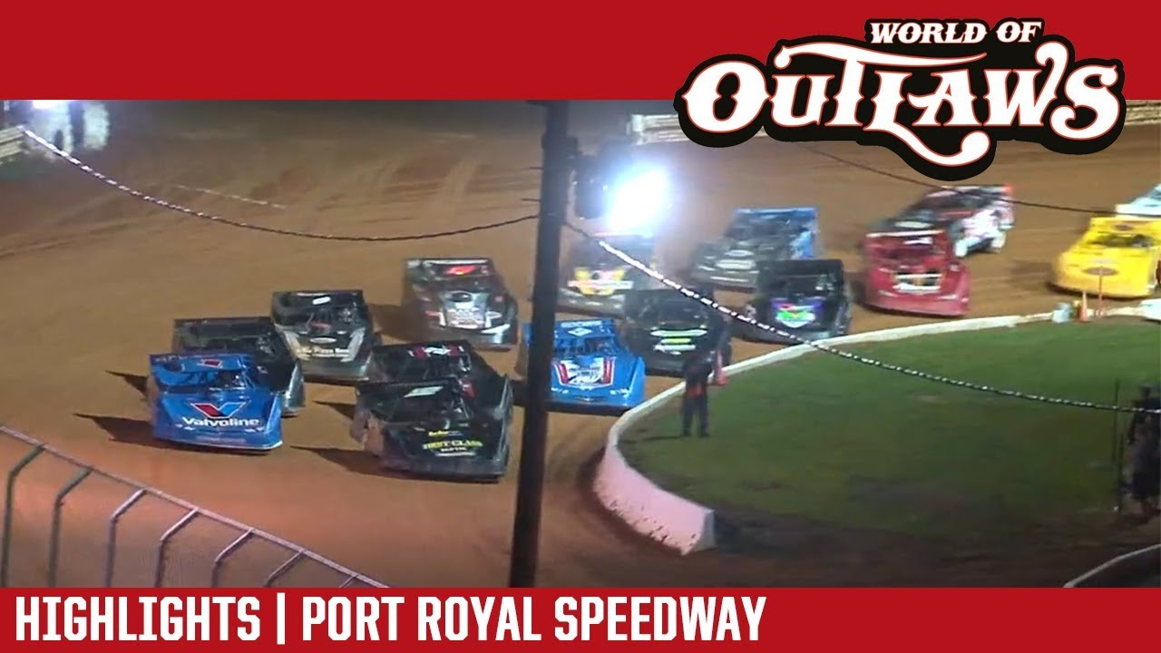 world of outlaws craftsman late models port royal speedway august