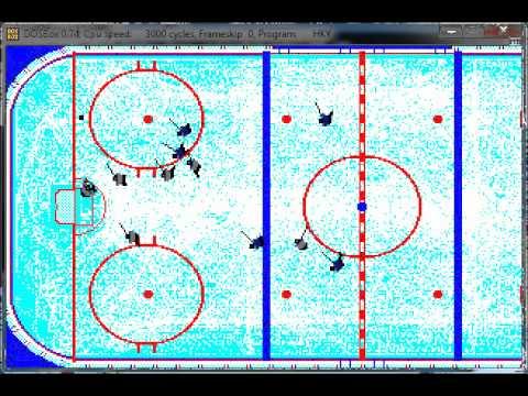 (PG-18 rated) Wayne Gretzky Hockey Season 1 Night 2 Game 2: Blues at Oilers