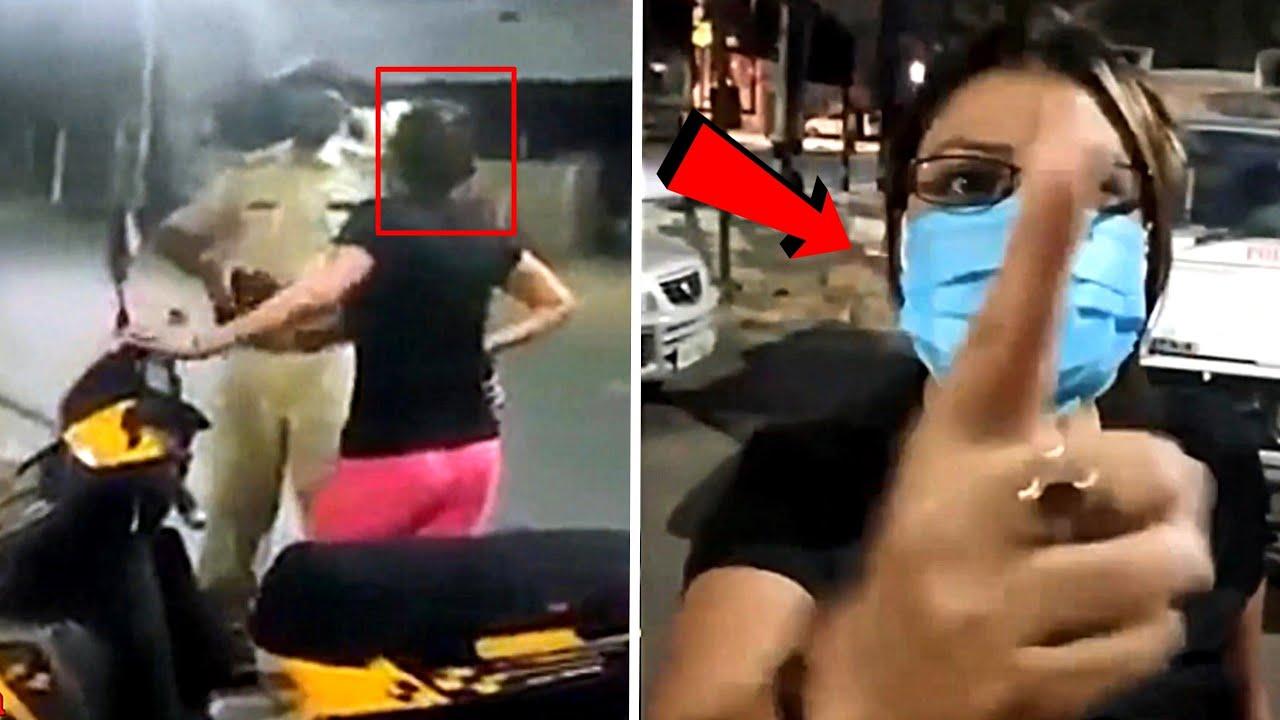 महिला को अपनी हरकत के चलते पछताना पड़ गया | Stunt Went Wrong
