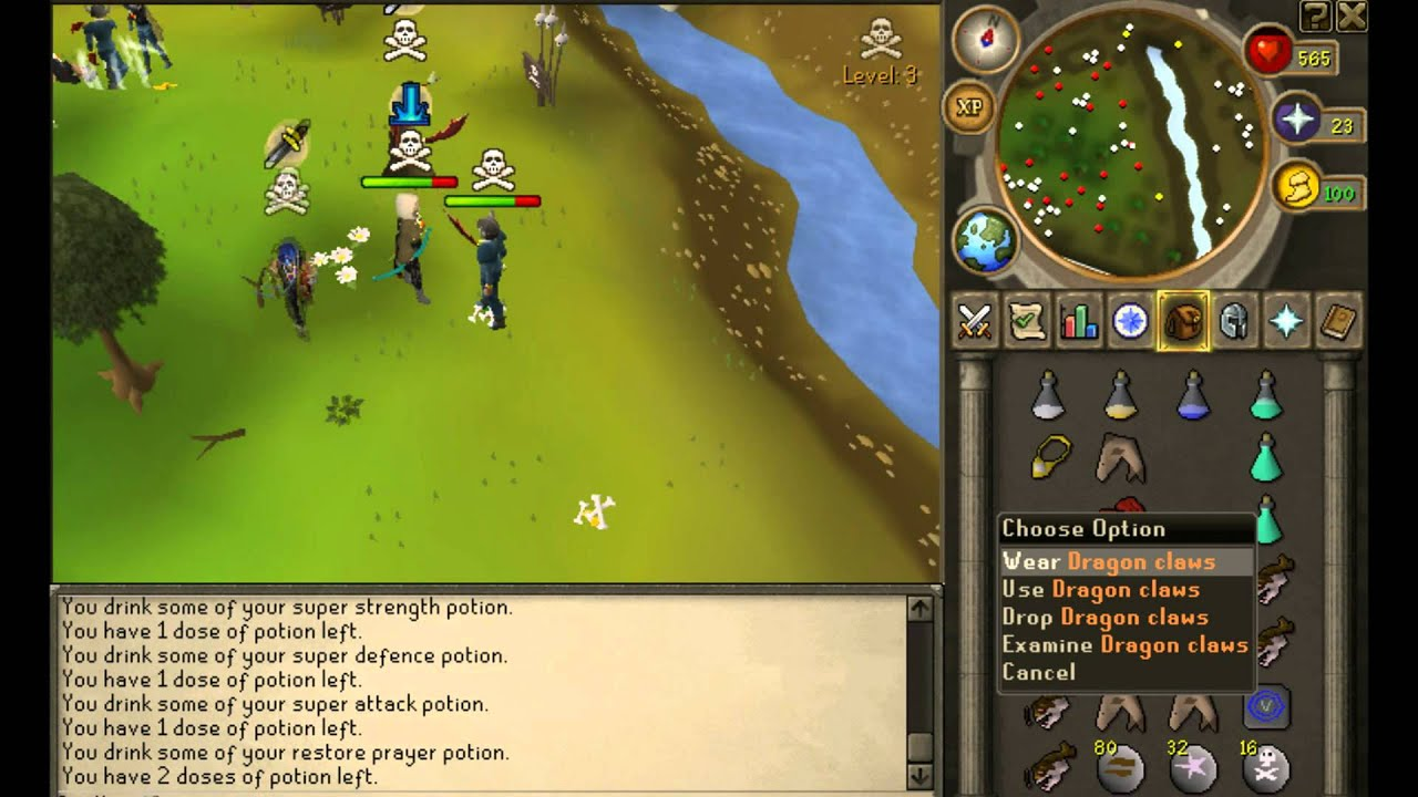 Eddie 2003 PK Vid 1 - RuneScape New Wilderness - Zerker