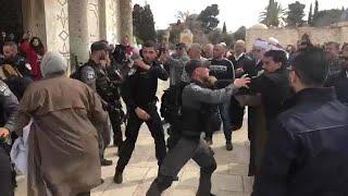 עימותים במסגד אל אקצא