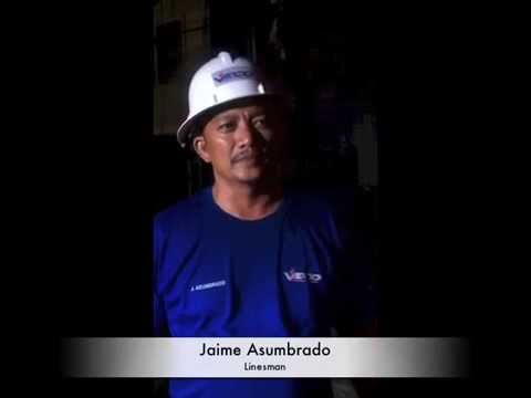 VECO lineman: on working during Typhoons