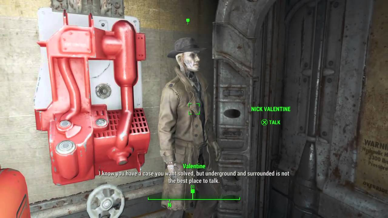 Progress Valentine Youtube 4 Fallout 114 Unlucky Bug Vault Stuck Nick -