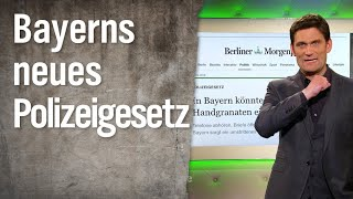 Das neue bayerische Polizeigesetz