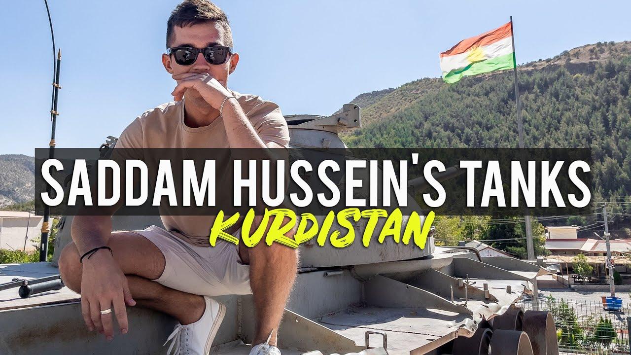 Download Saddam Hussein's tanks in Kurdistan (Iraq)🇮🇶