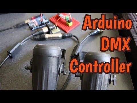 ARDUINO DMX512 CONTROLLER
