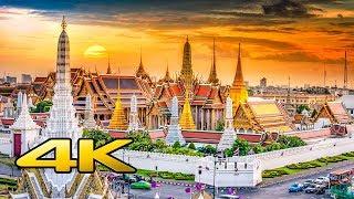 The  Grand Palace  &  Wat Phra Kaew  , Bangkok ,Thailand in 4k UltraHd