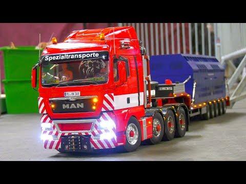 AMAZING RC TRUCKS, REMOTE CONTROL MODEL TRACTORS, RC FIRE TRUCKS, RC DOZER!!