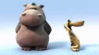 zingend nijlpaard en co