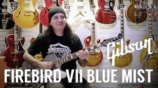 Gibson Firebird VII Blue mist - Présentation par Christophe !