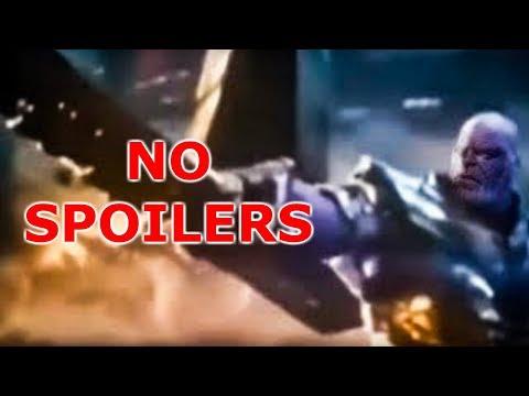 (Spoiler Free) Avengers Endgame Leaked Footage Of Last 5 Minutes Rundown