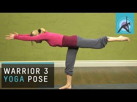 Yoga Pose: the Warrior 3