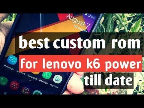 HOW TO INSTALL DOT OS 64 BIT ON LENOVO K6 POWER || USING