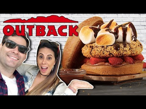 Hambúrguer Doce do Outback - Burger Experience