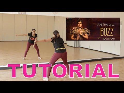 Bollywood Dance Tutorial To Buzz | Aastha Gill | Feat Badshah & Priyank Sharma | Fusion Beats Dance
