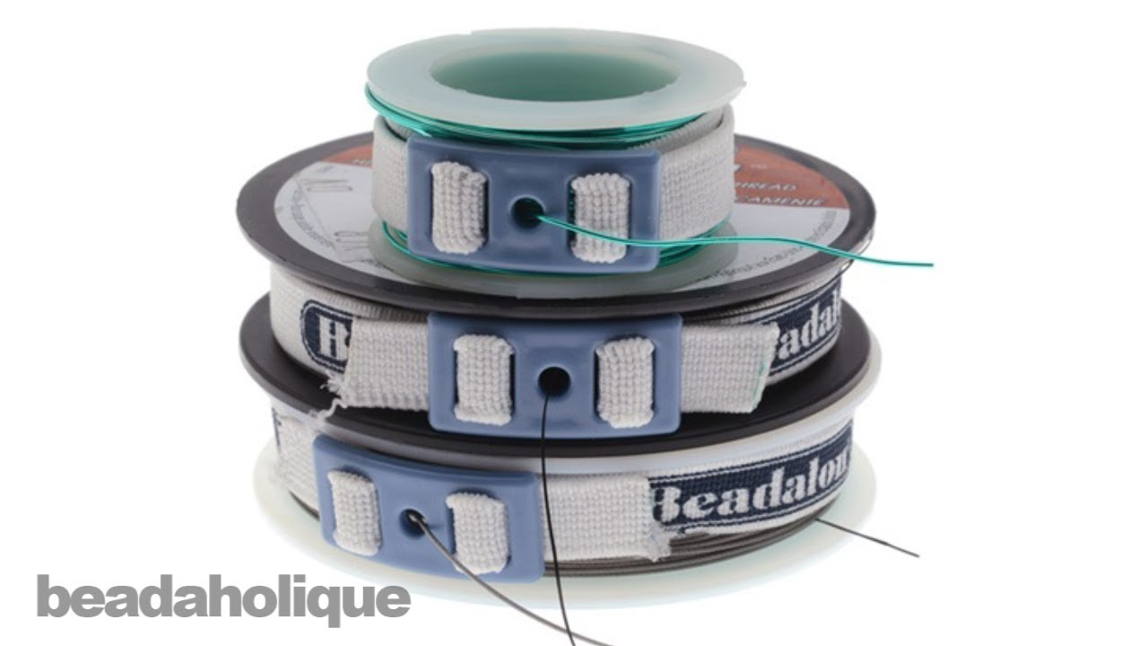 How to Use Beadalon Spool Tamer Wire Dispensers - YouTube