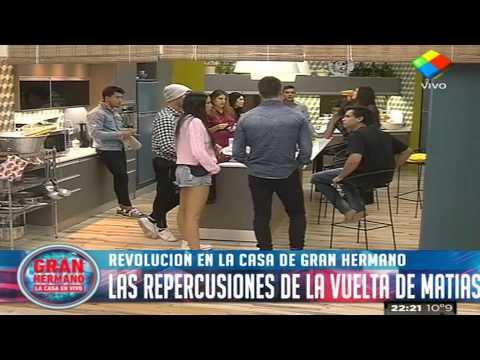 """""""Gran Hermano 2015"""": La Casa, revolucionada con la vuelta de Matías"""