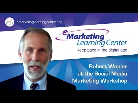 Robert Wooler at the Social Media Marketing Workshop