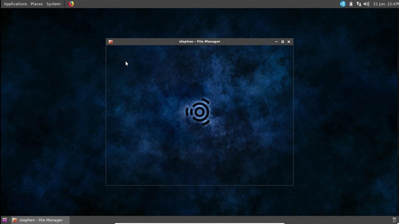 XFCE panel with Gnome 2 menu mod using openbox menus