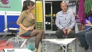 Marta Ondrackova Beautiful Czech Tv Presenter 07.11.2012