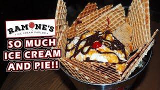 Ramone's Ice Cream Challenge w/ Fruit Pie in Eau Claire, Wisconsin!!