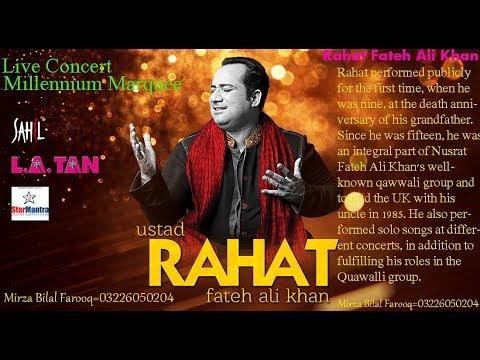 Rahat Fateh Ali Khan [Live Concert Qawali] At [Millenium Marquee Lahore] [Last Part 10]08-04-2018