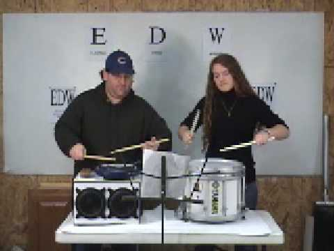 Electric Marching Drum Amplifier