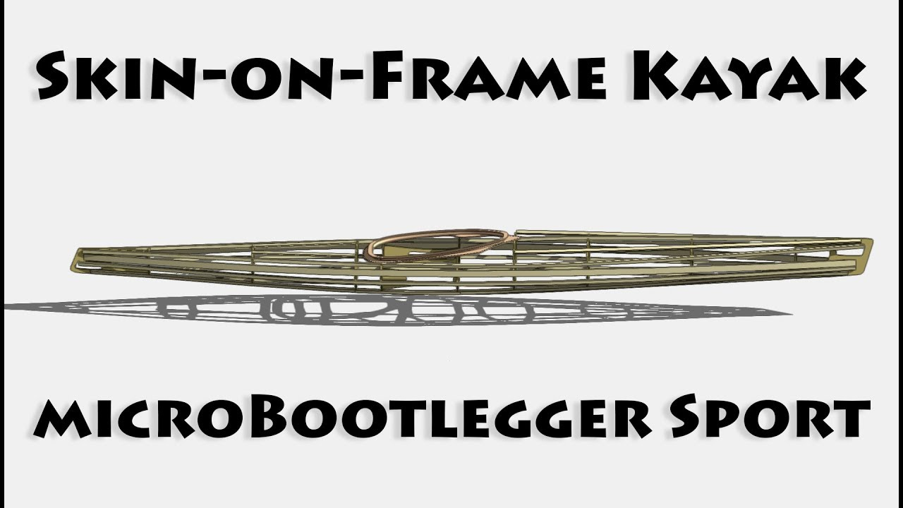 Intro and CAD work - Skin on Frame Kayak - E1 - YouTube