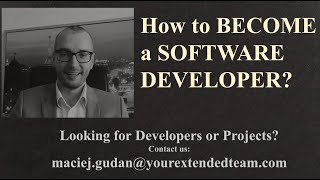 How to become a software developer?